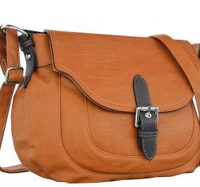 Besace camel : pour ma part, c'est le sac que je préfère !