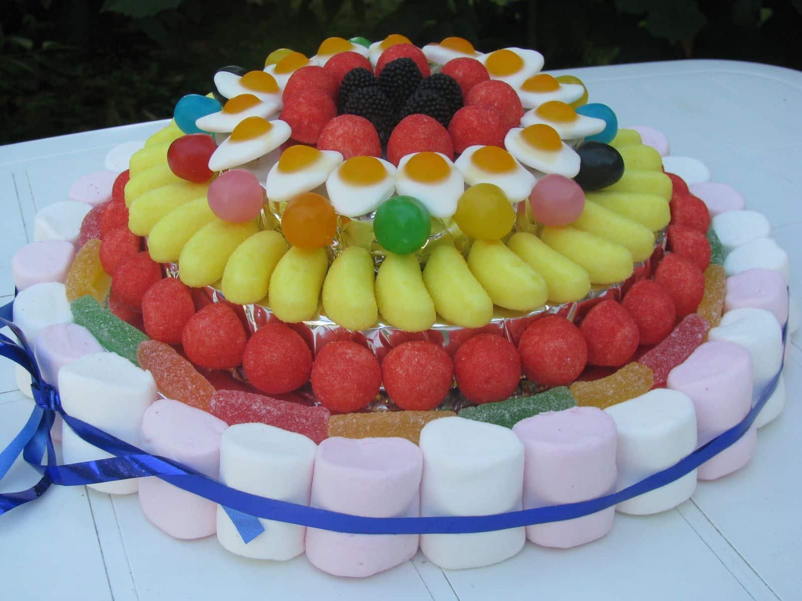Comment faire un gateau en bonbon - Gateau en bonbon ...